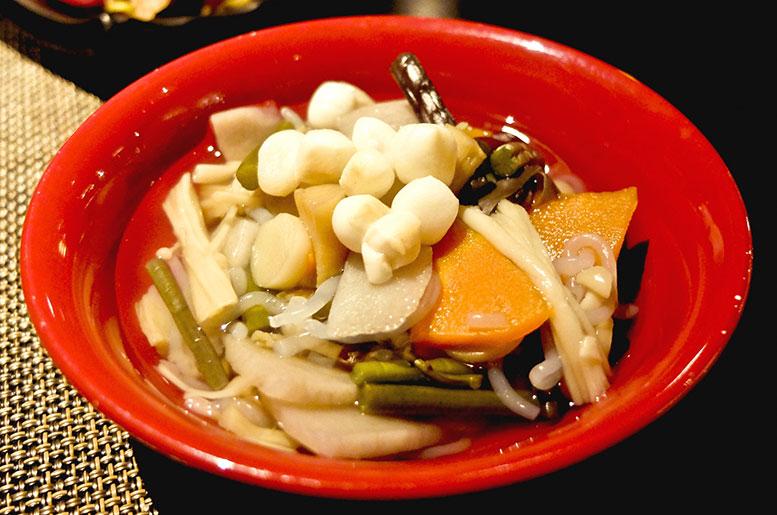 会津の郷土料理 こづゆ
