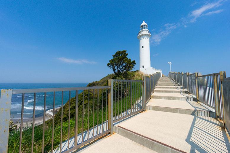 塩屋崎灯台 いわきの観光スポット