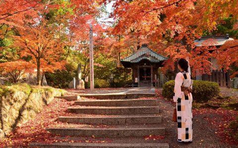 【福島市】文知摺観音・黒岩虚空蔵尊など紅葉の名所が見頃です